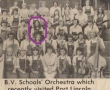 Orchestra tour photo, 1980