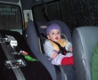 8 month Ella-Lucia in the Sydney tour bus, August 2006